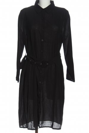 Boohoo Shirtwaist dress black casual look