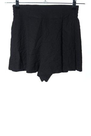 Boohoo High-Waist-Shorts schwarz Casual-Look