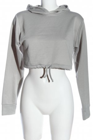 Boohoo Hooded Sweatshirt light grey casual look