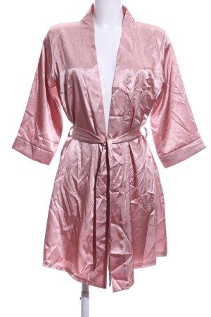 Boohoo Kimono rosa stile stravagante