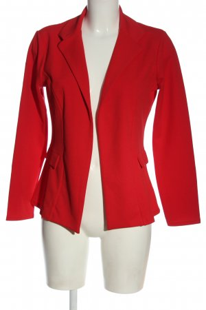 Boohoo Klassischer Blazer rosso elegante