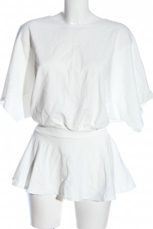 Boohoo Short Sleeved Blouse white casual look