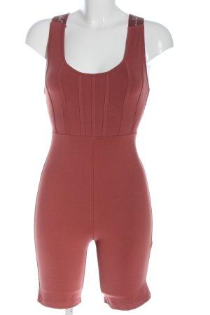 Boohoo Kurzer Jumpsuit roze casual uitstraling