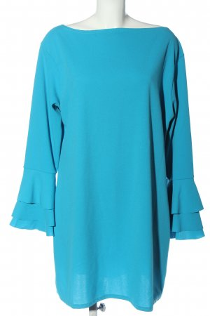 Boohoo Longsleeve Dress blue elegant