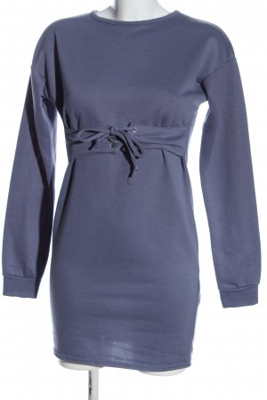 Boohoo Longsleeve Dress blue casual look