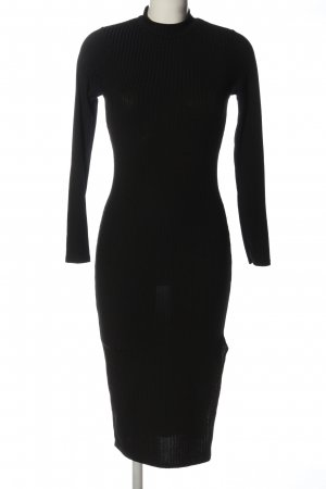 Boohoo Langarmkleid schwarz Elegant