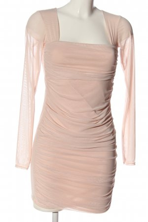 Boohoo Langarmkleid pink Elegant