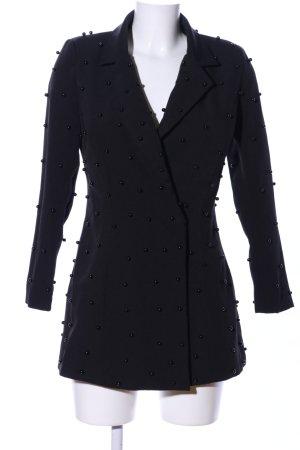 Boohoo Long-Blazer schwarz Elegant