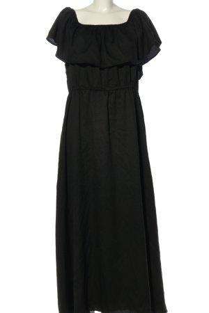 Boohoo Maxikleid schwarz Elegant