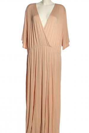 Boohoo Maxikleid nude Casual-Look