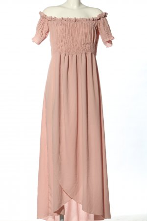 Boohoo Maxikleid pink Party-Look