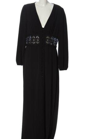 Boohoo Maxi-jurk zwart Polyester