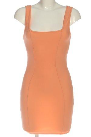 Boohoo Mini Abito arancione chiaro stile casual