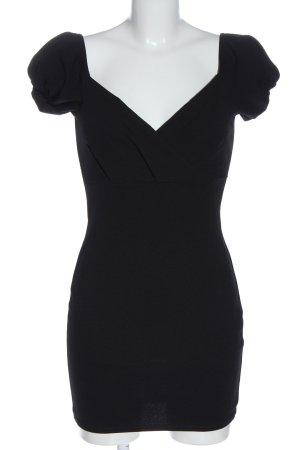 Boohoo Minikleid schwarz Elegant