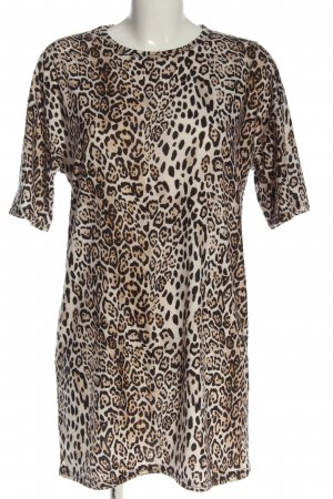 Boohoo Mini-jurk volledige print casual uitstraling