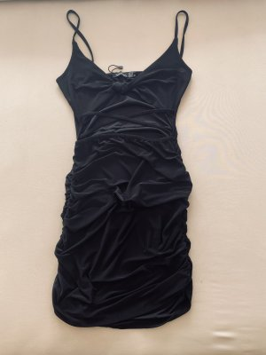 Boohoo Cut Out Dress black