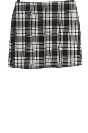 Boohoo Mini rok geruite print casual uitstraling