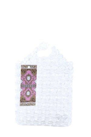 Boohoo Mini Bag white extravagant style