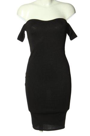 Boohoo night Ołówkowa sukienka czarny Melanżowy W stylu casual