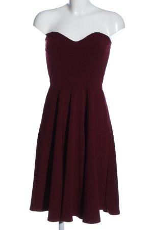 Boohoo night Off the shoulder jurk rood elegant