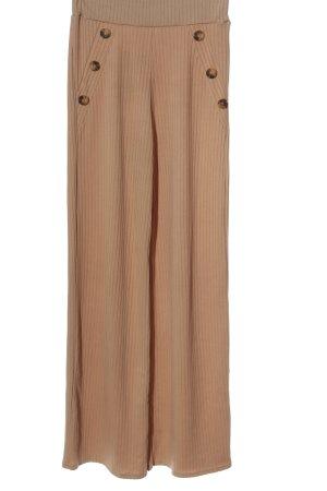 Boohoo night Spodnie materiałowe brązowy W stylu casual
