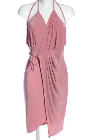 Boohoo night Sukienka na ramiączkach różowy Elegancki