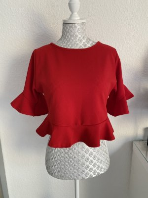 Boohoo T-Shirt red