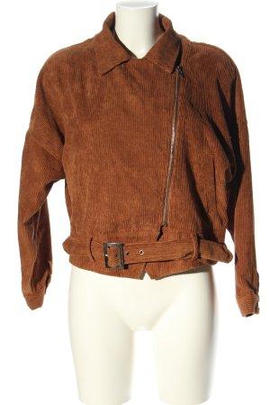 Boohoo Oversized Jacket brown casual look