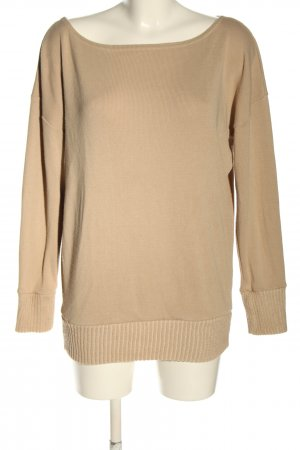 Boohoo Oversized Pullover creme Casual-Look