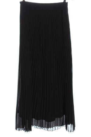 Boohoo Pleated Skirt black party style