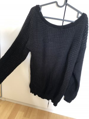 Boohoo Long Sweater black