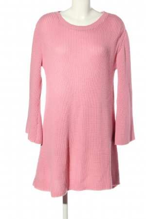 Boohoo Pulloverkleid pink Casual-Look