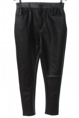 Boohoo Drainpipe Trousers black casual look