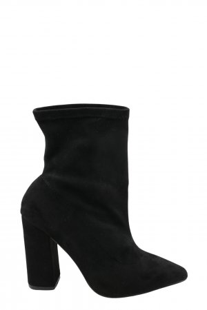 Boohoo Slip-on Booties black casual look
