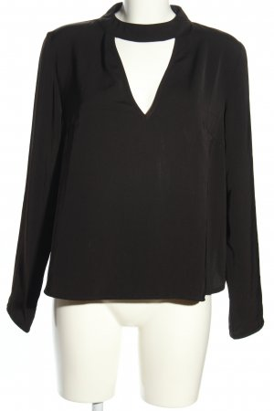 Boohoo Slip-over Blouse black casual look