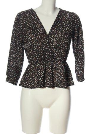 Boohoo Slip-over blouse abstract patroon elegant