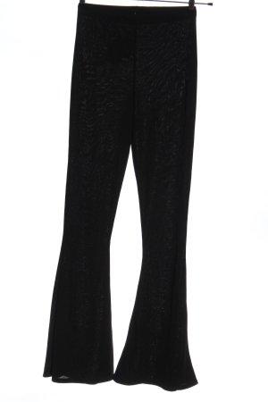 Boohoo Stoffen broek zwart casual uitstraling