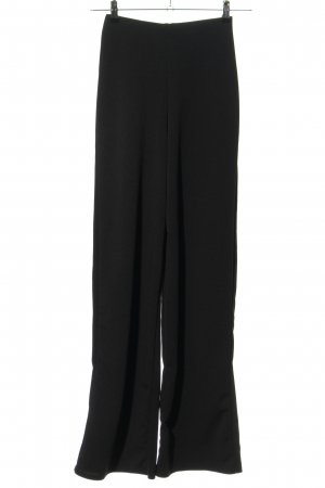 Boohoo Stoffhose schwarz Business-Look