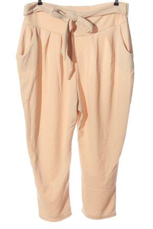 Boohoo Pantalone jersey color carne stile casual
