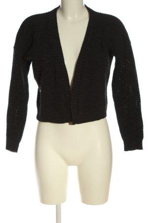 Boohoo Cardigan tricotés noir style décontracté