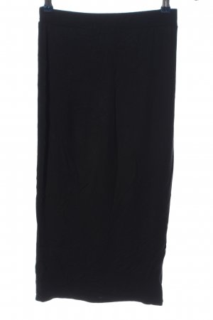 Boohoo Knitted Skirt black casual look