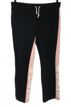Boohoo Sweat Pants printed lettering athletic style