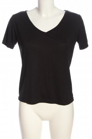 Boohoo T-Shirt schwarz Casual-Look