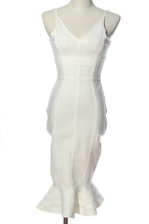 Boohoo Trägerkleid weiß Elegant