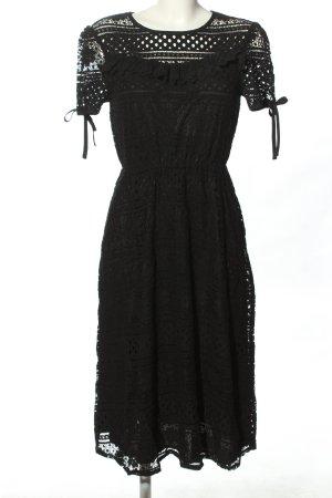 Boohoo Tunikakleid schwarz Elegant