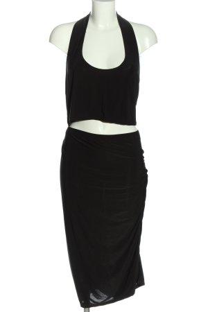 Boohoo Woven Twin Set black elegant