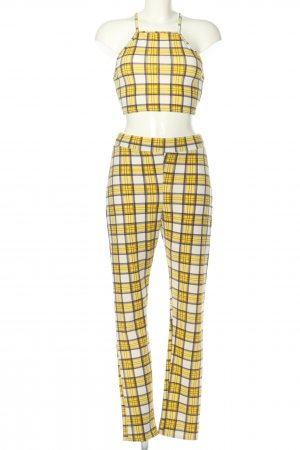 Boohoo Woven Twin Set check pattern casual look