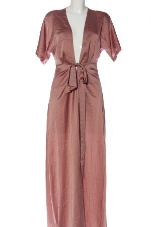 Boohoo Robe portefeuille rose élégant