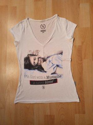 Boom bap Shirt met print wit