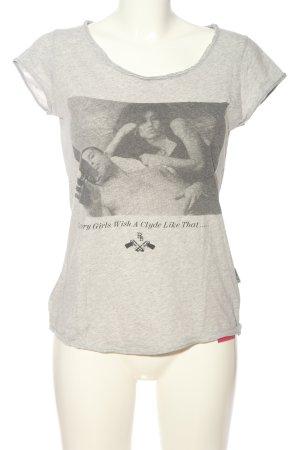 Boom bap T-Shirt hellgrau meliert Casual-Look
